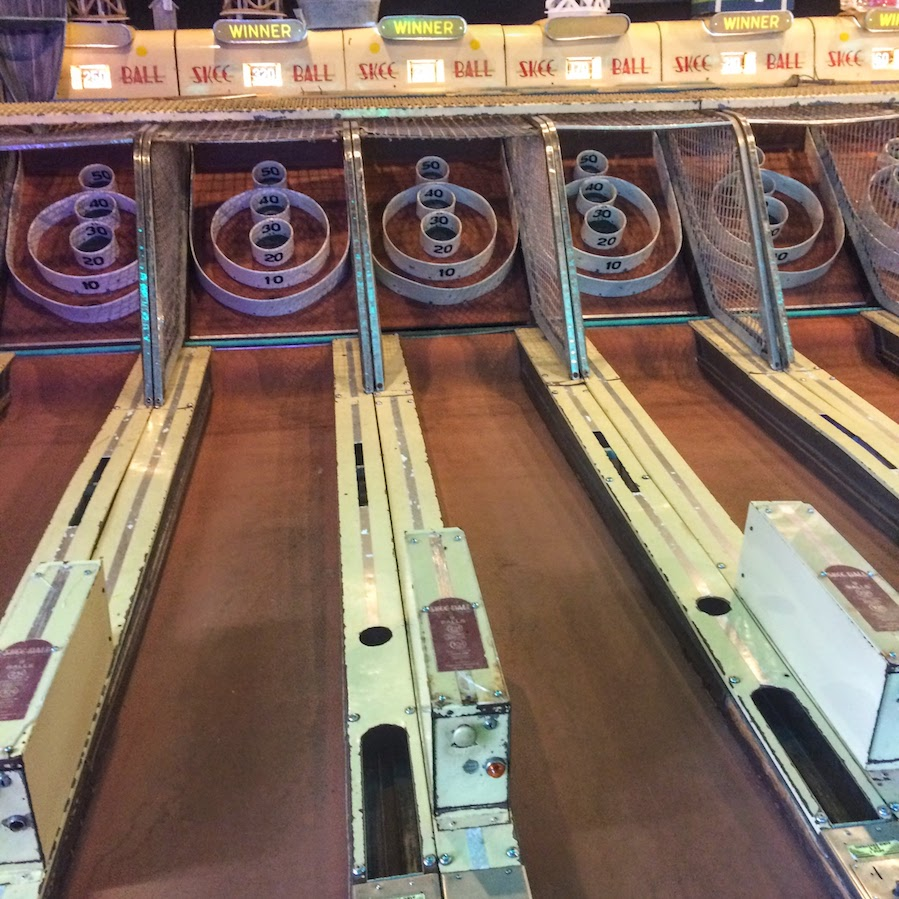 Skee Ball is one of the great arcade games of all time.